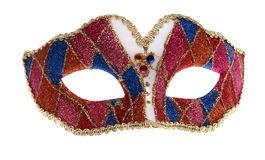 Venetian mask. Isolated against a white background Royalty Free Stock Photos