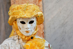 Venetian Mask. S during sensation venetian carnival in Venice Stock Photos