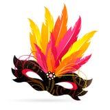 Venetian Mask. Illustration of an isolated beautiful Venetian Mask Stock Image