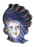 Venetian Mask. Venetian porcelain mask Stock Image