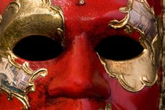 Venetian Mask 5. A close up shot of a venetian mask Stock Image