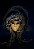 Venetian mask. Beautiful venetian mask with a mysterious lighting Royalty Free Stock Photos