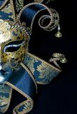Venetian mask. On black background Royalty Free Stock Photography