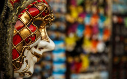 Venetian mask. Royalty Free Stock Photos