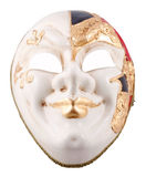 Venetian mask on a black background. Included clipping path Royalty Free Stock Photography