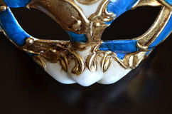 Venetian mask of a cat muzzle Royalty Free Stock Images
