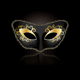 Venetian mask concept for woman Royalty Free Stock Photos