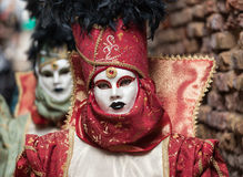Venetian mask of 2015 Royalty Free Stock Photo