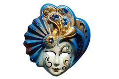 Venetian mask - isolated Stock Image