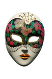 Venetian mask - isolated stock photography