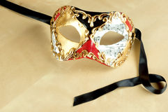 Venetian mask, isolated Royalty Free Stock Photography