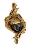 Venetian Mask Isolated on White stock photo