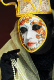Venetian mask make up Stock Images