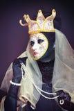 Venetian mask make up Royalty Free Stock Photos