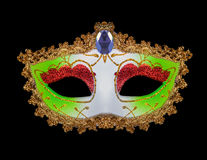 Venetian mask for a party Royalty Free Stock Image