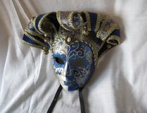CARNAVALESCO. Venetian mask, protagonists in the famous carnivals of Venice stock photography
