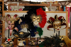 venetian mask shop Royalty Free Stock Photography