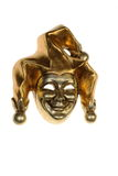 Venetian mask of smiling harlequin Royalty Free Stock Image