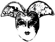 Venetian mask (vector) royalty free stock photography