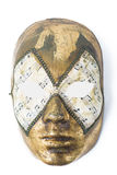 Venetian mask on white background Royalty Free Stock Images