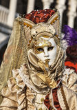 Venetian maskera Arkivbilder