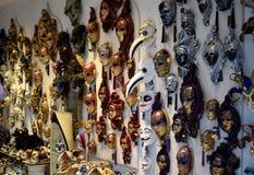 Venetian maskeradmaskeringar Royaltyfri Foto