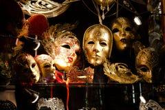 Venetian maskerar Royaltyfri Fotografi