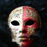 venetian maskering royaltyfria bilder