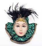 venetian maskering Fotografering för Bildbyråer