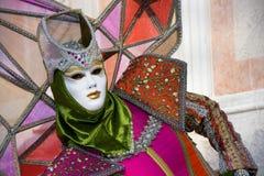 venetian maskering Arkivbilder