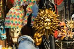 Venetian maskering Italien Royaltyfri Fotografi