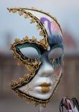 Venetian maskering som isoleras arkivfoto