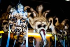 Venetian maskering Venedig Arkivfoton
