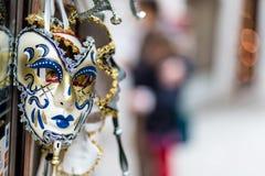 Venetian maskering (Venedig) Royaltyfri Foto