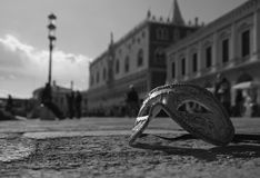 Venetian maskering, Venedig Royaltyfri Fotografi