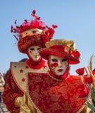 Venetian maskeringar royaltyfri fotografi