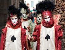 Venetian maskeringar av 2015 Arkivbild