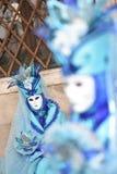 Venetian maskeringar för karneval 2016 i San Marco kvadrerar Royaltyfri Fotografi