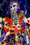 Venetian maskeringar Venedig Italien Royaltyfri Bild