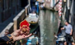 Venetian maskeringssouvenir Royaltyfri Foto