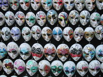 Venetian masks Stock Images