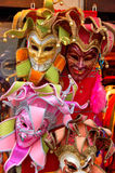 Venice Carnival : Colorful masks Royalty Free Stock Image
