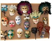 Venetian masks Stock Photography