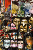 Venetian Masks. Masks for sale in Venice Italy Royalty Free Stock Images