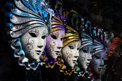 Venetian masks Stock Photos