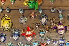 Venetian masks Stock Photography