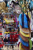 Venetian Masks and Handpainted Puppets in Venice, Italy Stock Images