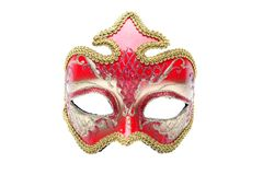 Venetian masks isolated Stock Photography