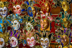 Venetian Masks. Made of painted ceramic Royalty Free Stock Photo