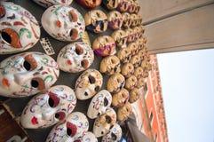 Venetian Masks. At Rialto market in Venice Royalty Free Stock Photo
